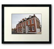 Stratford Upon Avon Preparatory School in Warwickshire England Framed Print