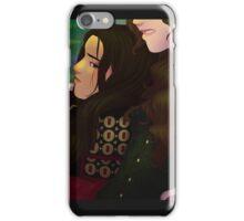 Gray, Red Warrior iPhone Case/Skin