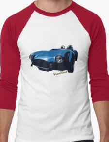 The Elusive Blue Cobra T-Shirt! Men's Baseball ¾ T-Shirt