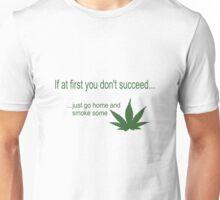 Funny marijuana print Unisex T-Shirt