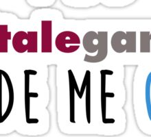 Telltale Games made me cry Sticker