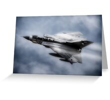 TORNADO GR4 PAINTING Greeting Card
