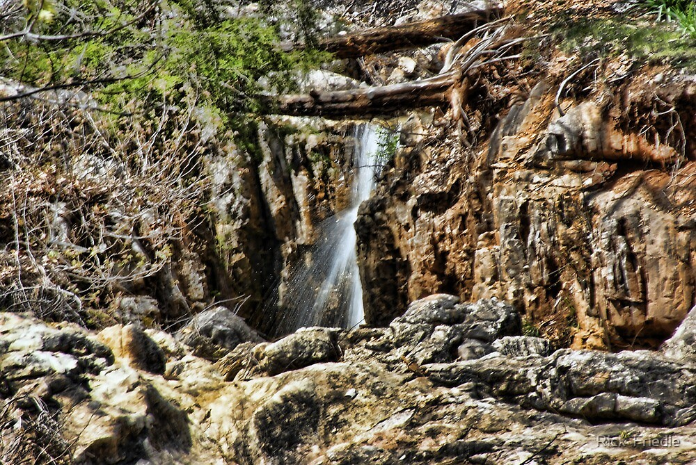 Water thru the Canyon by Rick  Friedle