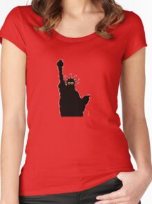 liberty shades  Women's Fitted Scoop T-Shirt