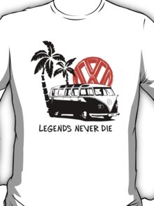 Legends Never Die - Retro BULLY T-Shirt T-Shirt