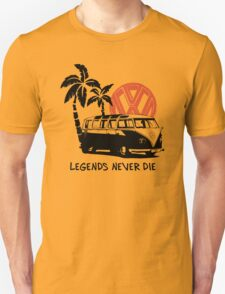 Legends Never Die - Retro BULLY T-Shirt Unisex T-Shirt