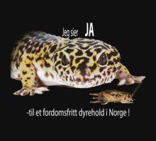 Jeg sier ja - Eublepharis macularius by Thor  Håkonsen
