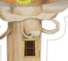 Mushroom illustration Sticker