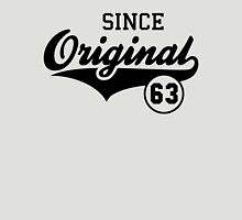 Original SINCE 1963 Birthday Anniversary T-Shirt Black Unisex T-Shirt