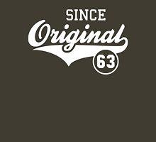 Original SINCE 1963 Birthday Anniversary T-Shirt White Unisex T-Shirt