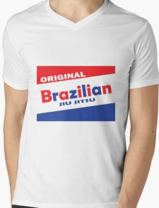 Bazooka BJJ Mens V-Neck T-Shirt