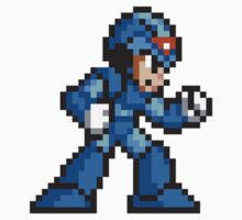 16-Bit Megaman Regular Suit by impulsiVdesigns