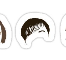 Derek (Ricky Gervais ) Minimal Heads Sticker