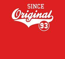 Original SINCE 1993 Birthday Anniversary T-Shirt White Unisex T-Shirt