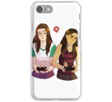 Game Buddies, Red Warrior iPhone Case/Skin
