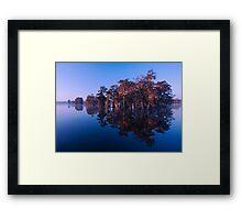 Cypress Island Framed Print