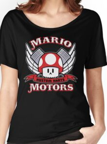Mario Motors Kustom Karts Women's Relaxed Fit T-Shirt