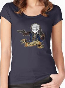 Roll for Shooting Women's Fitted Scoop T-Shirt