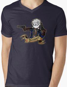 Roll for Shooting Mens V-Neck T-Shirt