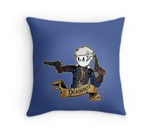 Roll for Shooting Throw Pillow