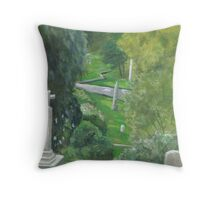 Mt Auburn Throw Pillow