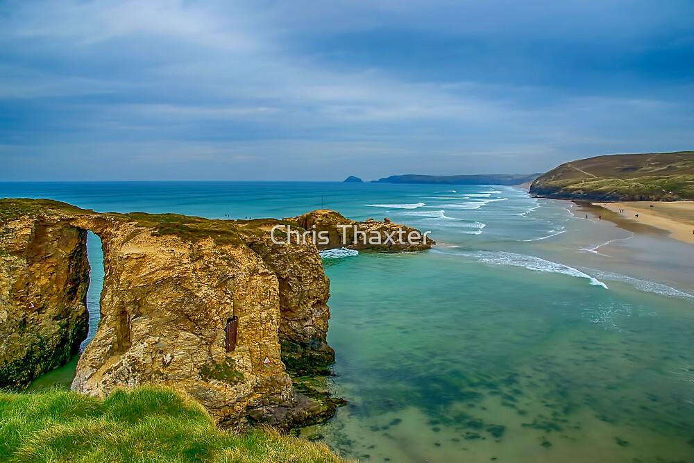 Perranporth Beach 2 by Chris Thaxter