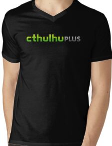 CTHULHU PLUS Mens V-Neck T-Shirt