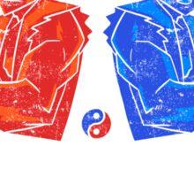 Twin Dragon Martial Arts Sticker