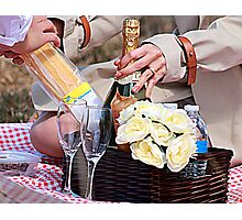 Engagement Picnic Photographic Print