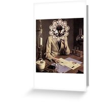 Young Scientist. Greeting Card