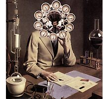 Young Scientist. Photographic Print
