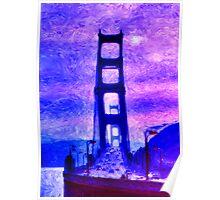 The Golden Gate Bridge Poster