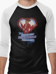 I Choose Hancock Men's Baseball ¾ T-Shirt