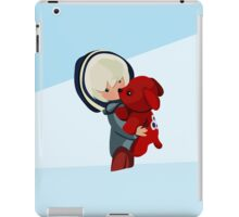 A Girl and Her Puppy iPad Case/Skin