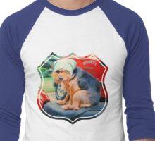Biker chick Men's Baseball ¾ T-Shirt