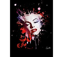 Marylin Monroe Abstract Theme Photographic Print