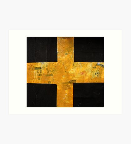 a flag of an imaginery country Art Print