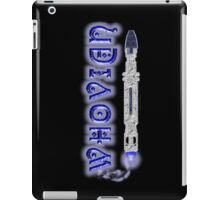 Whovian Screwdriver iPad Case/Skin