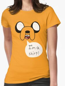 Jake The Adventure Time Womens Fitted T-Shirt