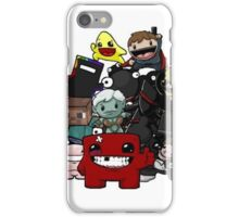 Indie Game Charactors iPhone Case/Skin