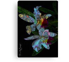 Blues In Nature  Canvas Print