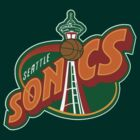 Seattle Supersonics Logo  by ksanwal