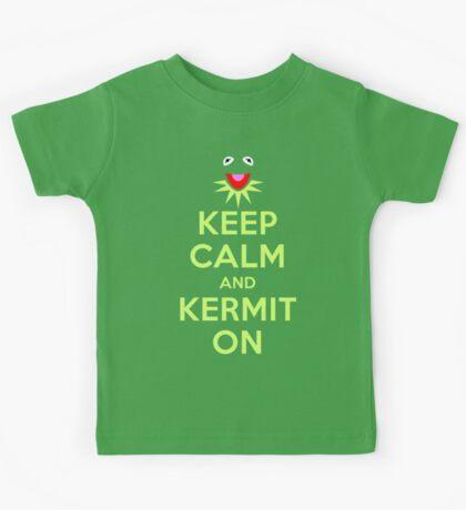 Keep Calm Kermit Kids Tee