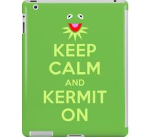 Keep Calm Kermit iPad Case/Skin