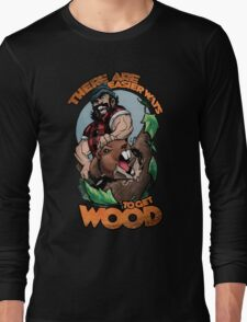 Easier Ways to Get Wood Long Sleeve T-Shirt