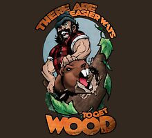 Easier Ways to Get Wood Unisex T-Shirt