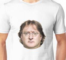 Gabe Newell's Amazing Face Unisex T-Shirt