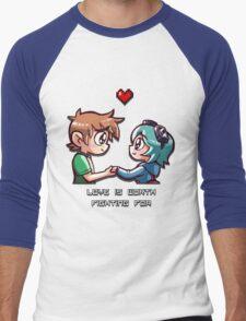 Love Worth Fighting For Men's Baseball ¾ T-Shirt