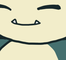 Snorlax Sticker