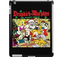 CHRISTMAS WITH DROPKICK MURPHYS iPad Case/Skin